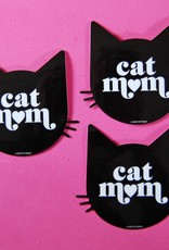 A Shop Of Things Shop of Things | Cat Mom Vinyl Sticker