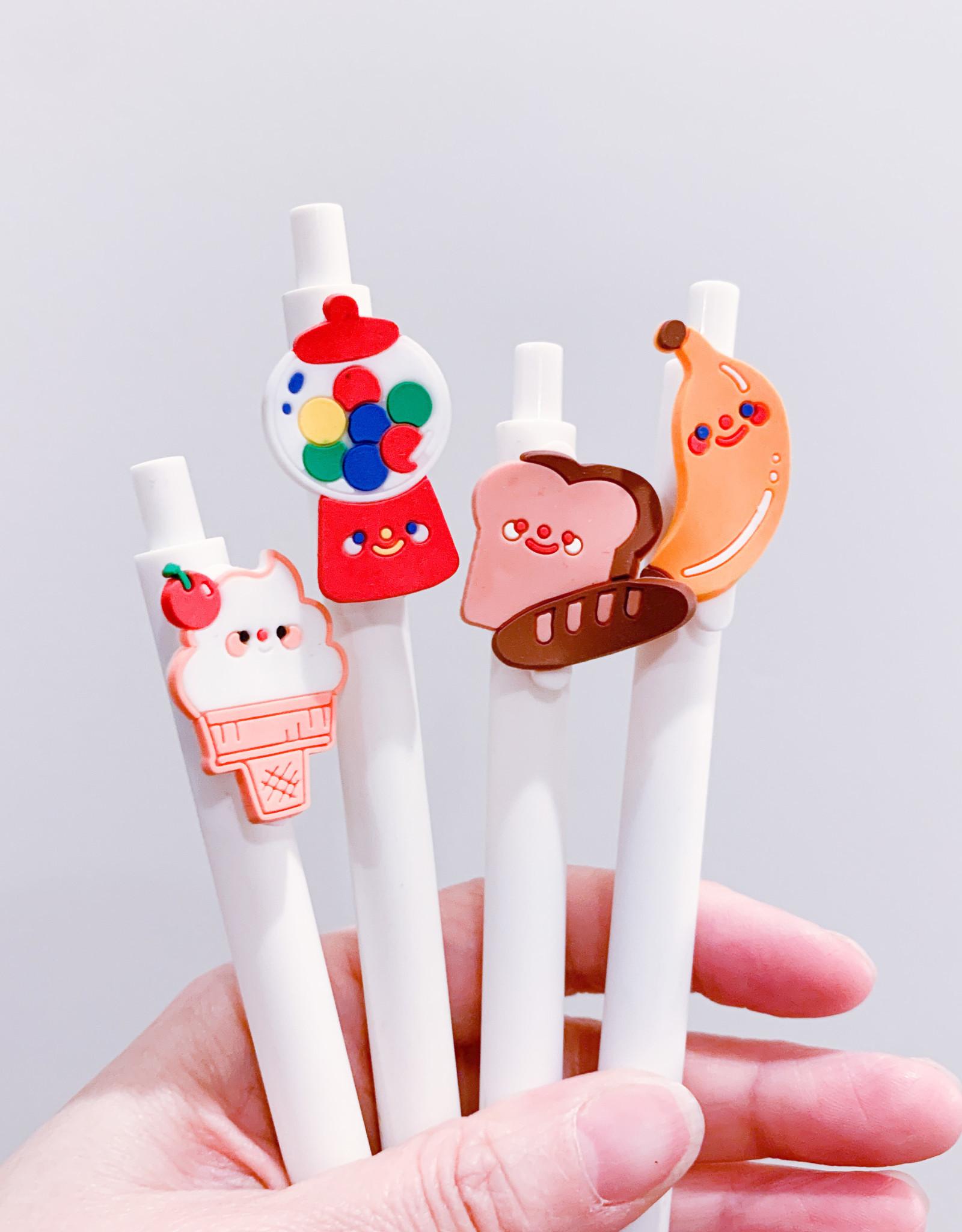 Happy Food Gel Pens