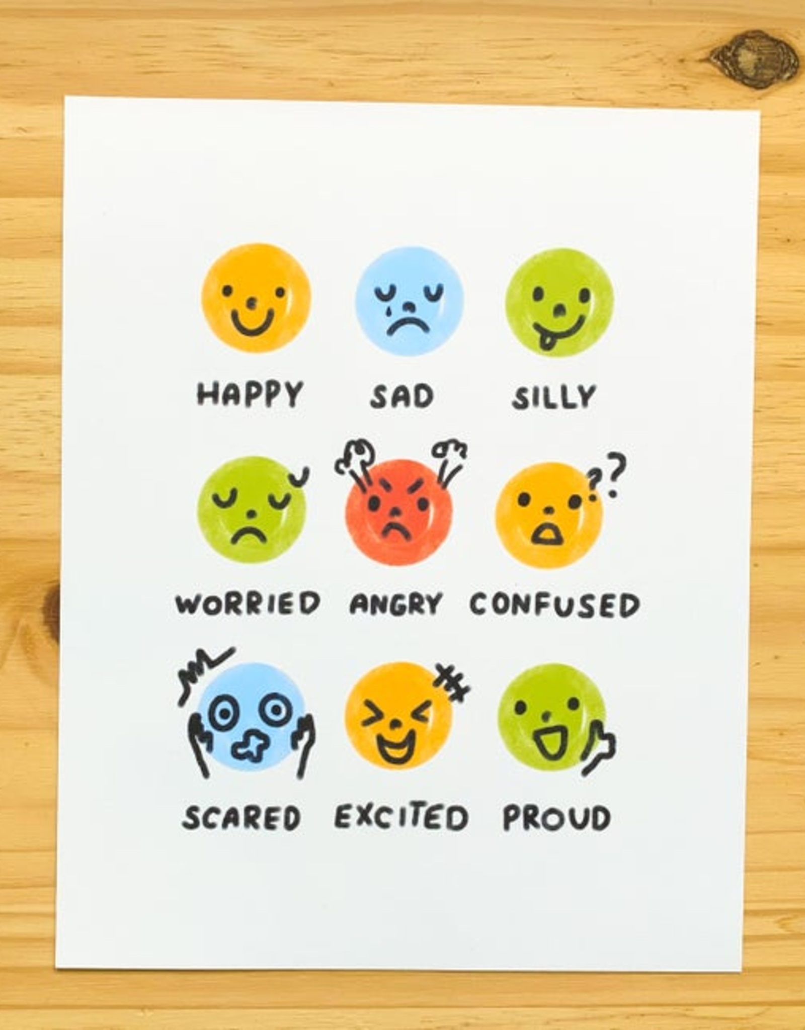 Tiny Trophy Shop Tiny Trophy Shop | Emotions Print 8x10