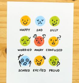 Tiny Trophy Shop Tiny Trophy Shop | Emotions Print 8x10