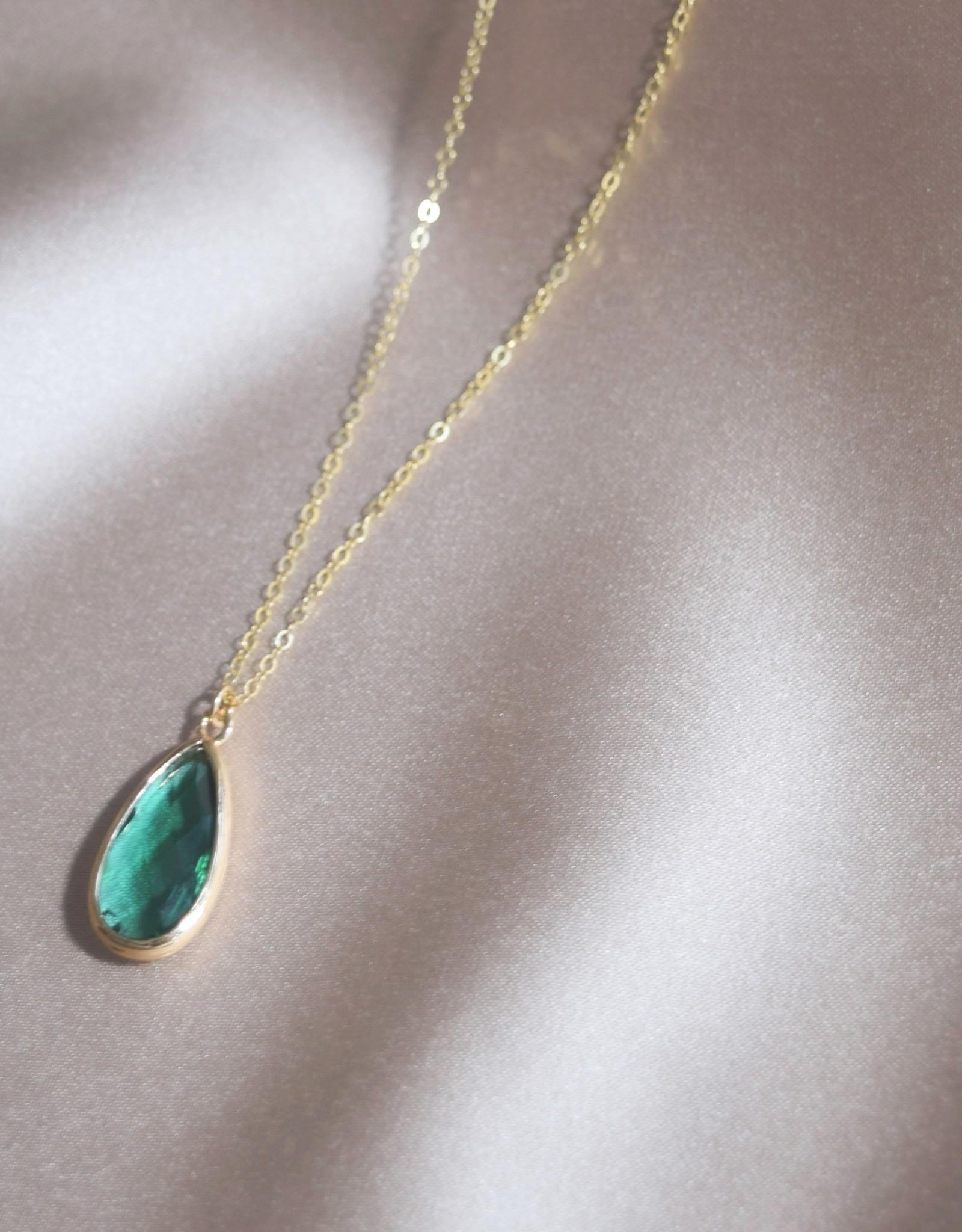 Mashallah Mashallah | Emerald Quartz Necklace