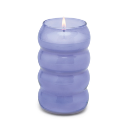 Paddywax Paddywax | Purple Bubble Ribbed Candle - Wisteria