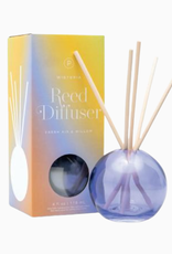 Paddywax Paddywax | Purple Bubble Reed Diffuser - Wisteria
