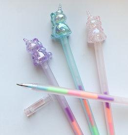 Unicorn Rainbow Gel Pens