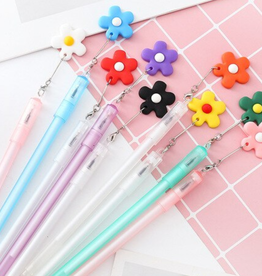 Flower Pendant Gel Pens