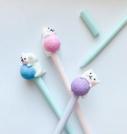 Playful Kitty Gel Pens