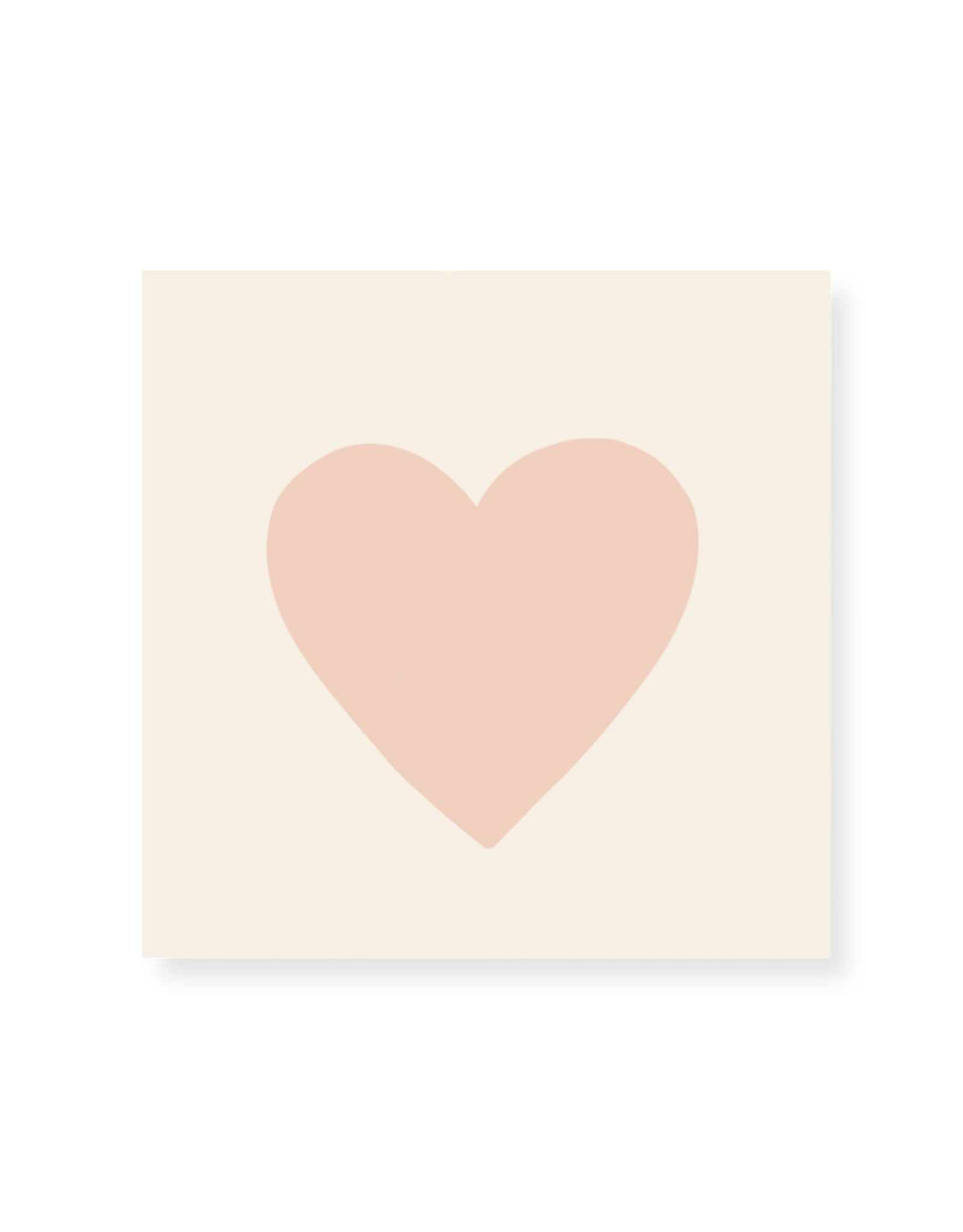 Frankie & Claude Embossed Pink Heart Matches
