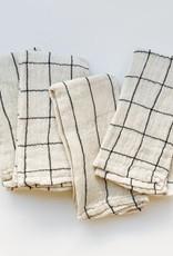 Creative Co-Op Cream Woven Cotton Napkins - Set of 4