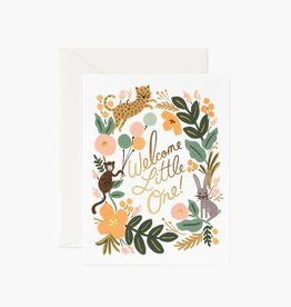 Rifle Paper Co. Rifle Paper | Menagerie Baby Card