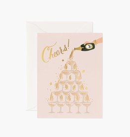 Rifle Paper Co. Rifle Paper | Champagne Tower Card