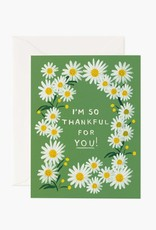 Rifle Paper Co. Rifle Paper | Daisies Thankful For You Boxed Set (Set of 8)