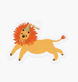 Rifle Paper Co. Rifle Paper | Party Lion Die-Cut Gift Tag (Set of 8)
