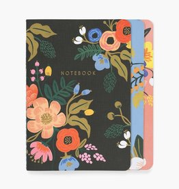 Rifle Paper Co. Rifle Paper| Lively Floral Notebooks (set of 3)