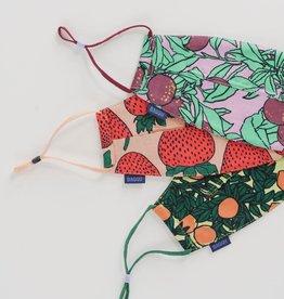 Baggu Baggu | Fabric Mask Set Loop - Backyard Fruit