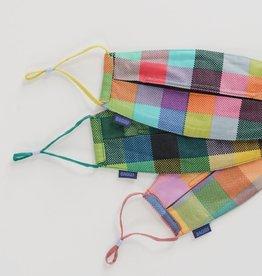 Baggu Baggu | Fabric Mask Set Loop - Madras Mix