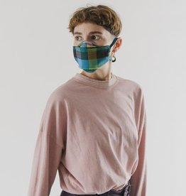 Baggu Baggu | Fabric Mask Set Tie - Madras Mix