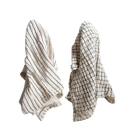 Cream Gauze Tea Towel (Set of 2)
