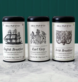 Oliver Pulff and Co. Oliver Pluff and Co. | Signature Tea Tins