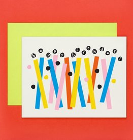 My Darlin' My Darlin' | Abstract Birthday Candles Card