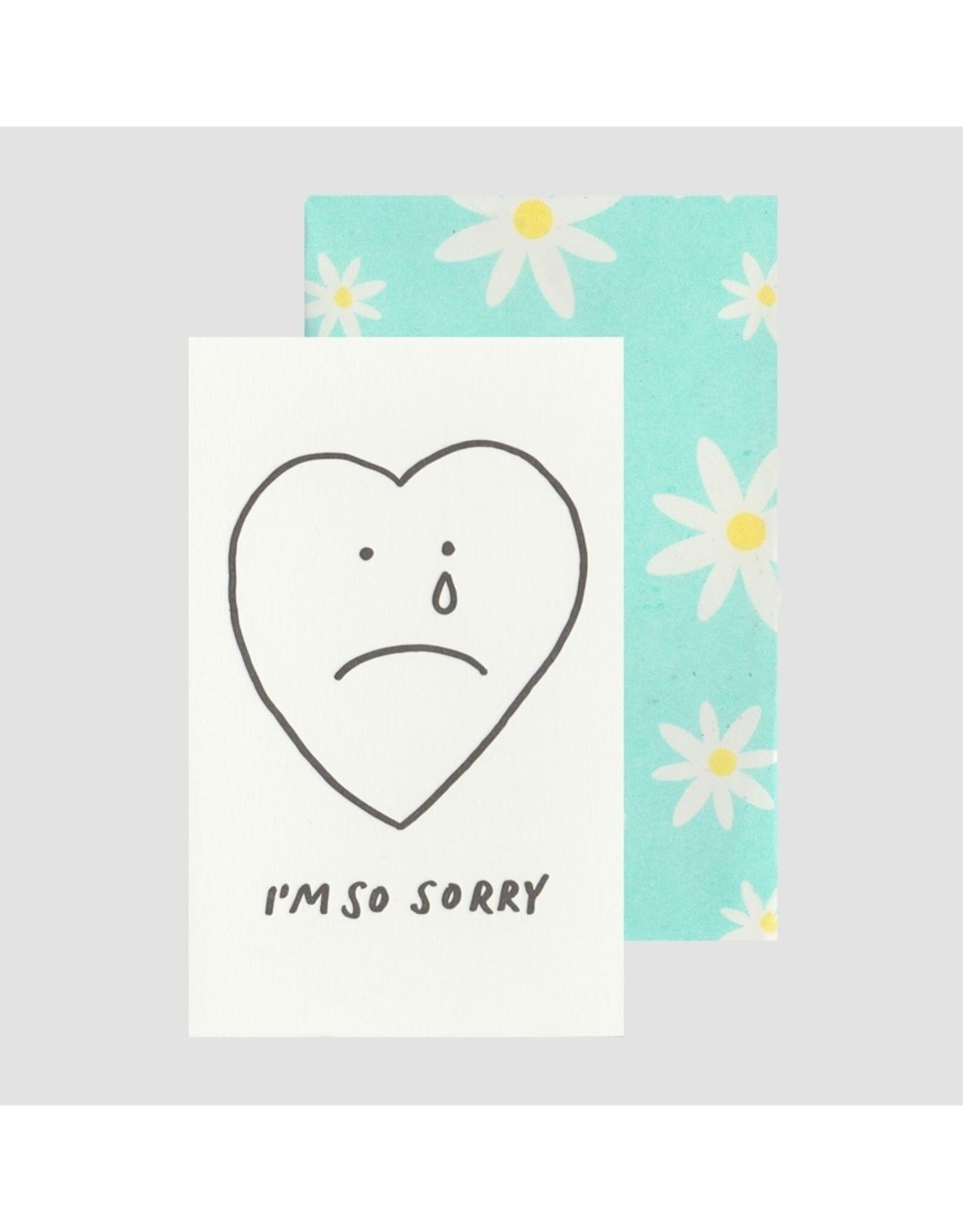 Poem Press Poem Press | Sorry Heart Card
