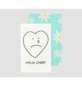 Poem Press Poem Press | Sorry Heart Card