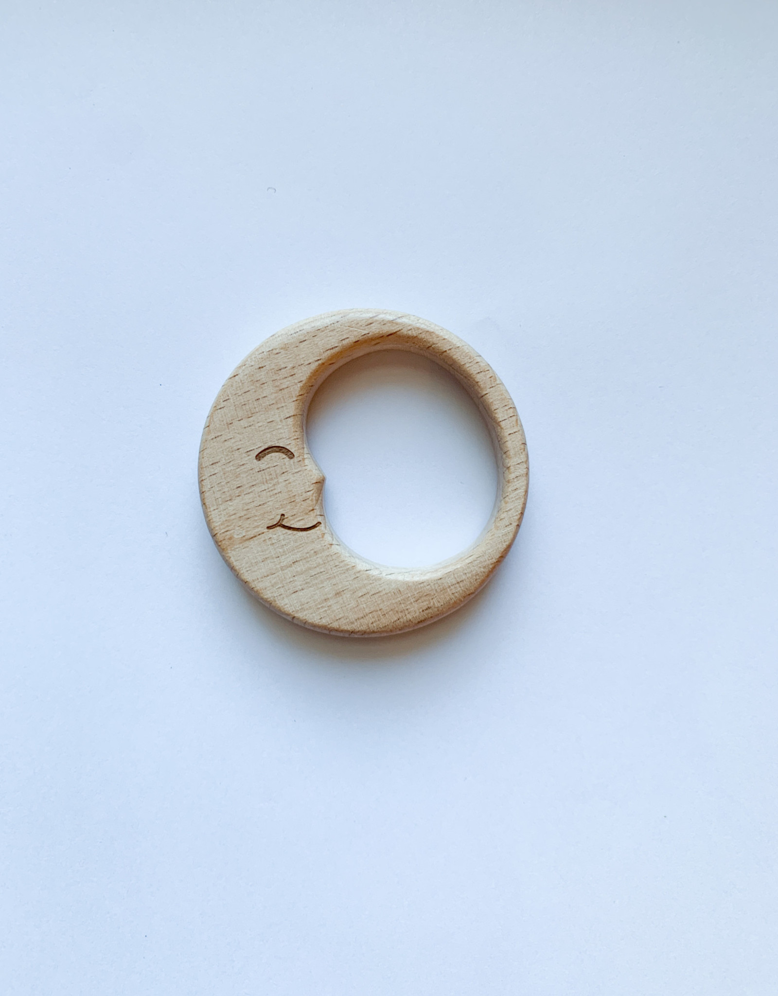 Wooden Moon Teether