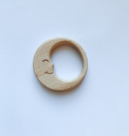 Wooden Moon Teether