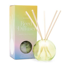 Paddywax Paddywax | Green Bubble Reed Diffuser - Green Tea & Melon
