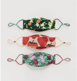 Baggu Baggu | Kids Fabric Loop Mask Set (Fruit)