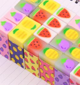 Foodie Erasers