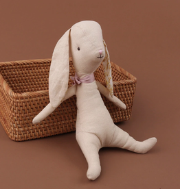 Linen Stuffed Bunny