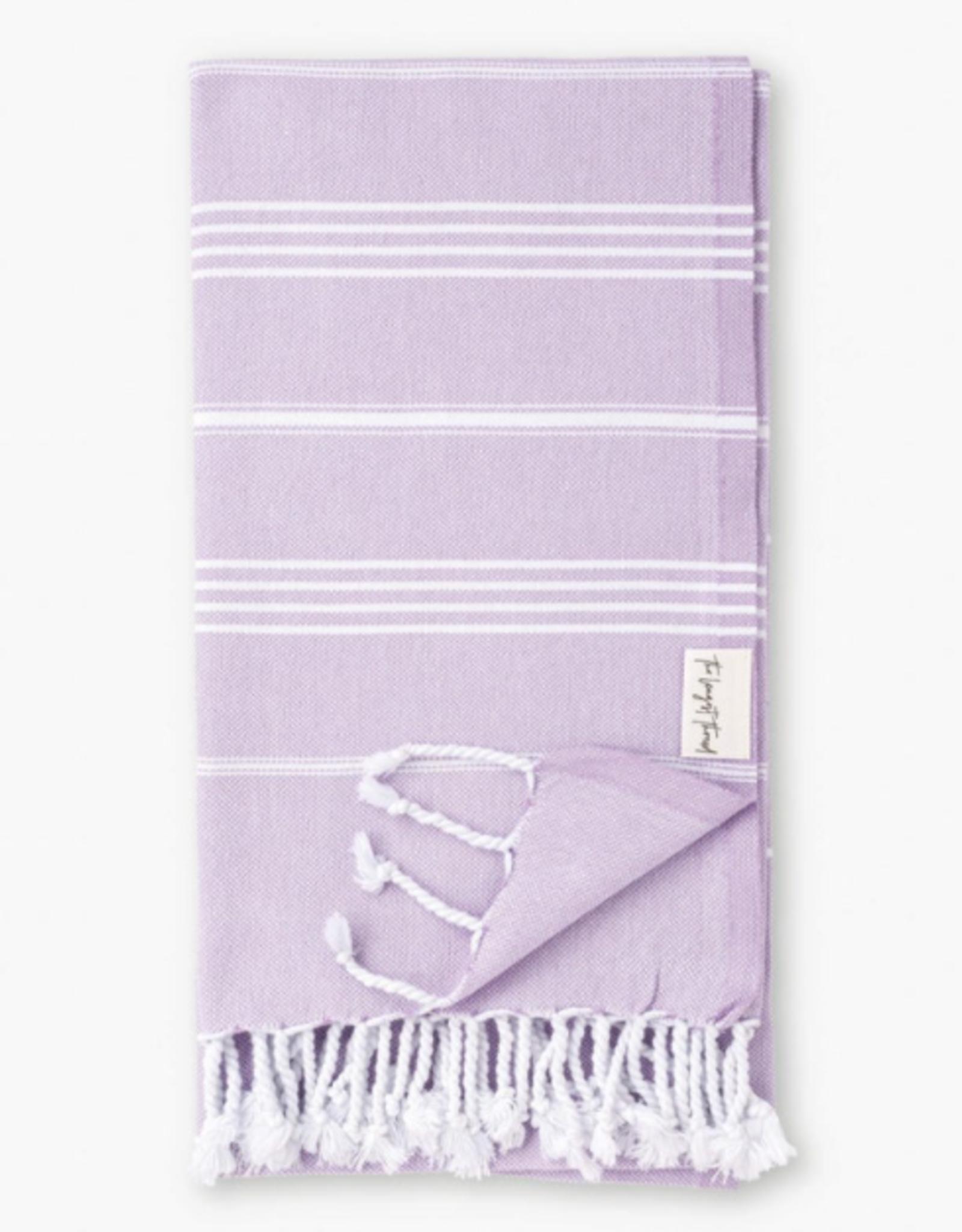 The Longest Thread Turkish Bath Towel - Lavender