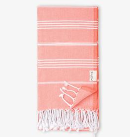 The Longest Thread Turkish Bath Towel - Tangerine