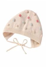 Pink Knit Pom Pom Hat