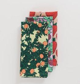 Baggu Baggu - Backyard Fruit Cloth Napkins  (Set of 3)