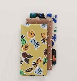 Baggu Baggu - Archive Florals Cloth Napkins  (Set of 3)
