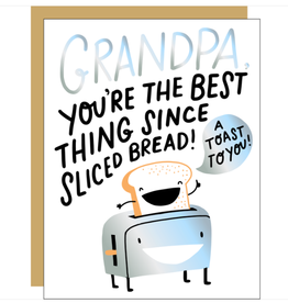 Egg Press Hello Lucky    A Toast to Grandpa