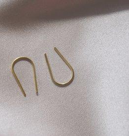 Mashallah Mashallah   Small Thread Earrings