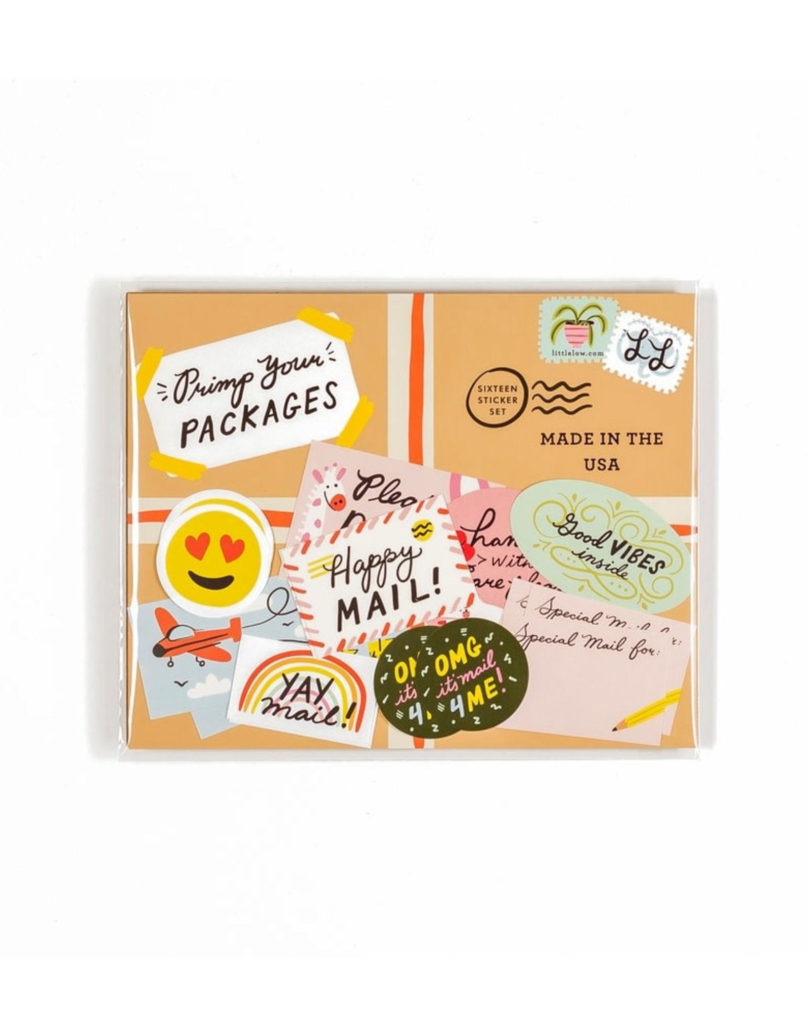 Little Low Little Low | Primp Your Packages Sticker Set