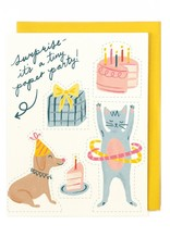 Little Low Little Low | Tiny Paper Party Card
