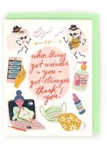 Little Low Little Low | Weird Thanks Card