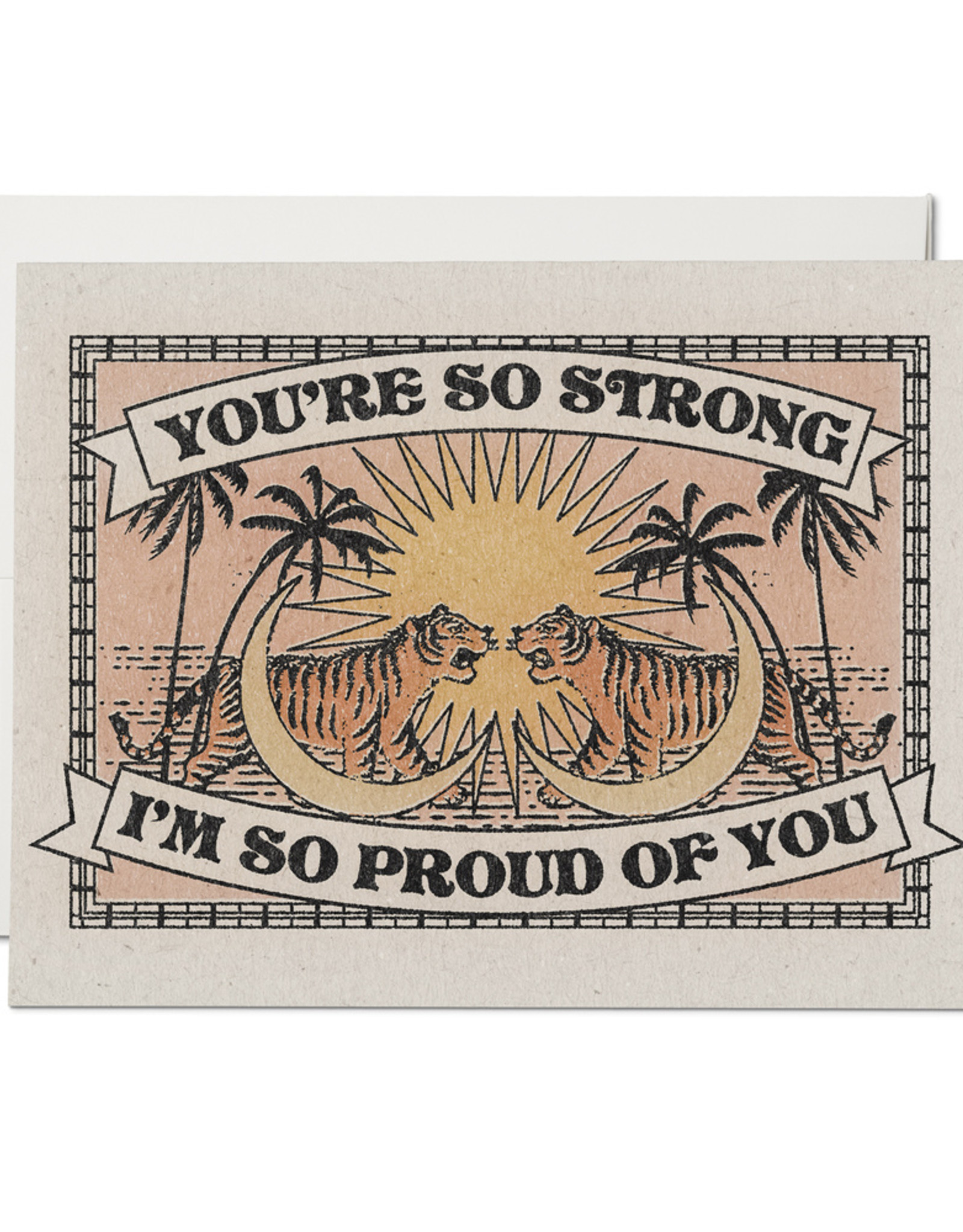 Red Cap Red Cap | You're So Strong Card