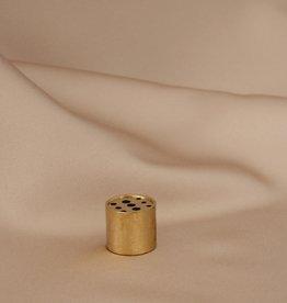 Mashallah Mashallah | Brass Barrel Incense Holder