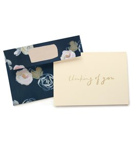 Our Heiday Our Heiday | Blue Florals Thinking of You Box Set of 6