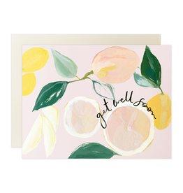 Our Heiday Our Heiday   Citrus Get Well Soon Card