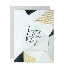 Our Heiday Our Heiday   Happy Father's Day Geometric Card