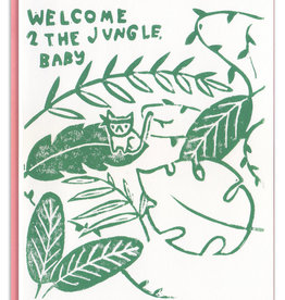 Ghost Academy Ghost Academy | Welcome to the Jungle Baby Card