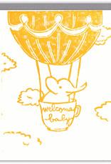 Ghost Academy Ghost Academy   Baby Elephant Card