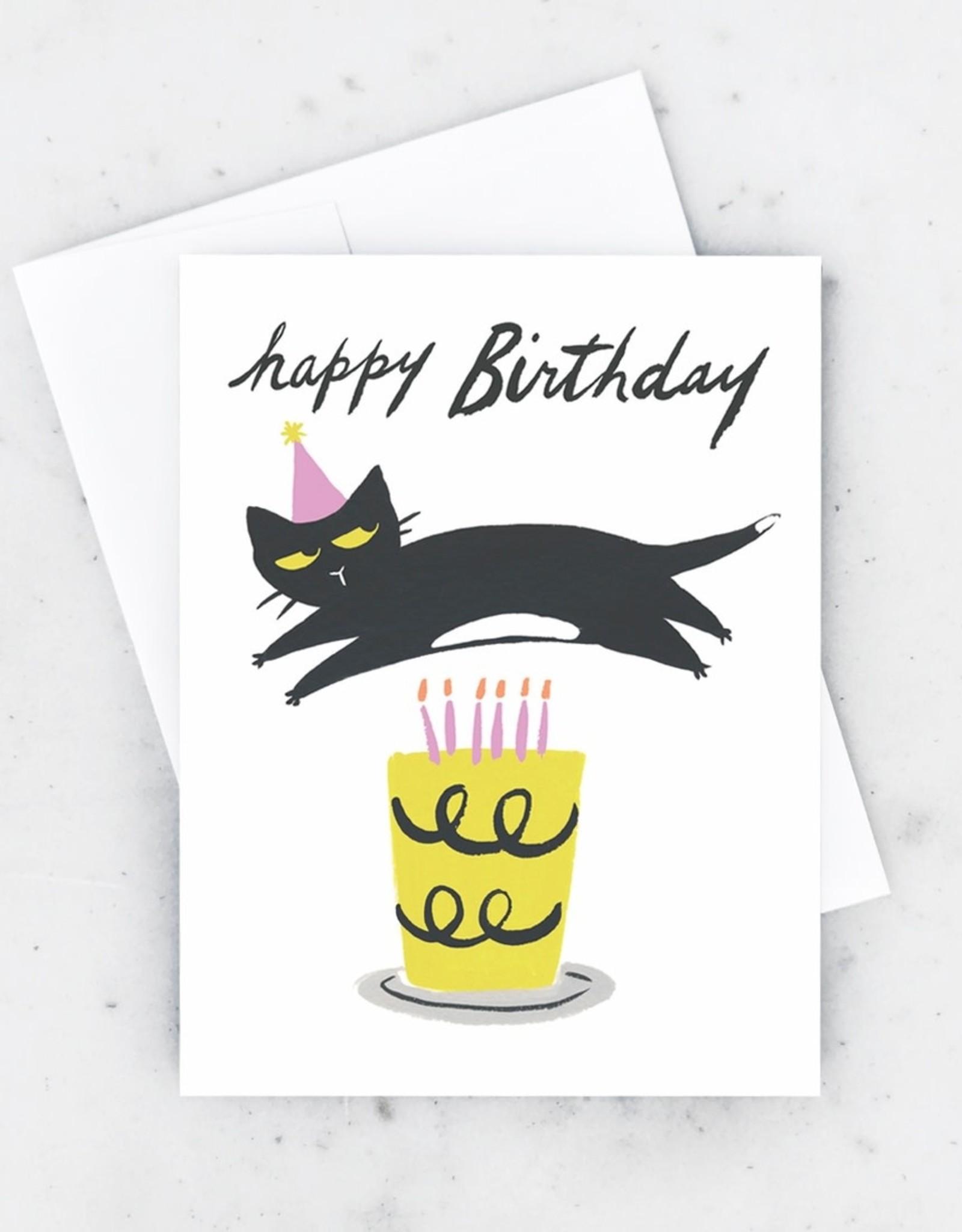 Idlewild Co. Idlewild Co.   Cat Candles Card