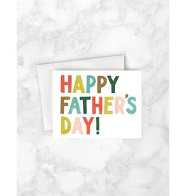 Idlewild Co. Idlewild Co. | Colorful Letters Father's Day Card